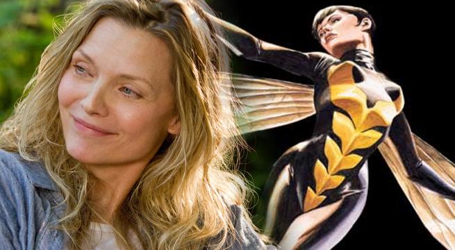Marvel Studios Casts Michelle Pfeiffer As Janet Van Dyne