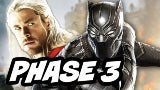 Thor 3 and Black Panther Marvel Comic-Con 2017
