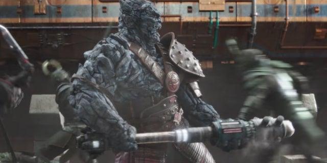 Thor ragnarok director says korg 39 s role in film is bigger for Plante x ragnarok