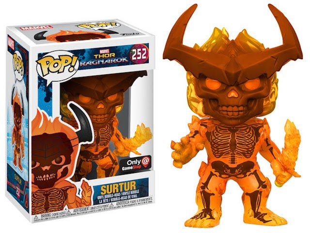 Thor: Ragnarok Funko Pop Offers First Look at Surtur