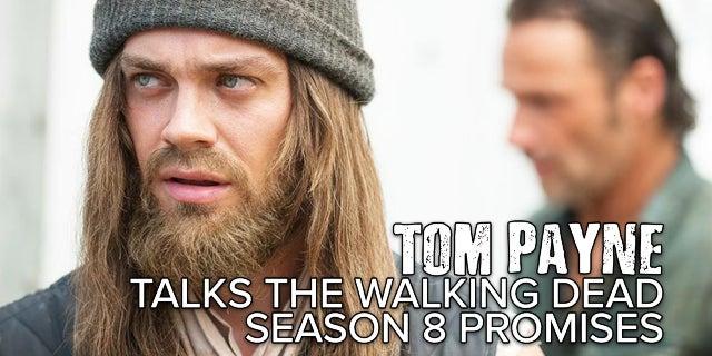 Tom Payne Talks The Walking Dead Season 8 screen capture