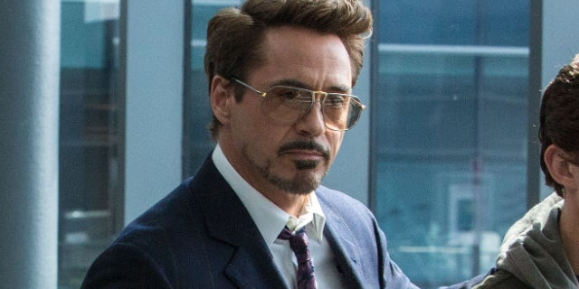 Tony Stark Robert Downey Jr