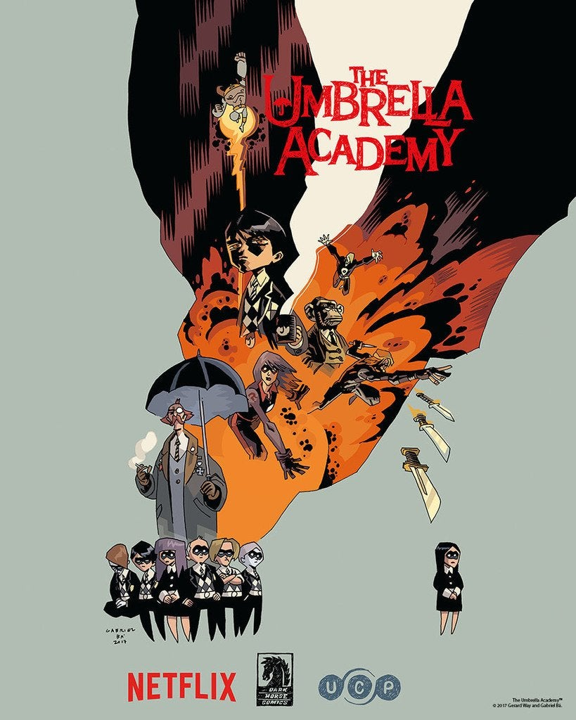 Netflix is adapting Gerard Way's The Umbrella Academy