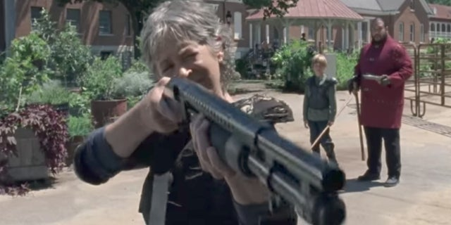 Walking Dead Season 8 Trailer - Carol Shotgun