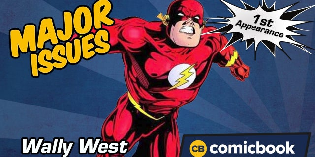 Wally West's First Appearance - Major Issues screen capture