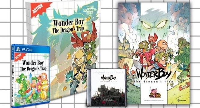 A Couple Of Months Ago We Reported That Limited Run Games Would Be Making Physical Edition DotEmus Wonder Boy The Dragons Trap For PlayStation 4