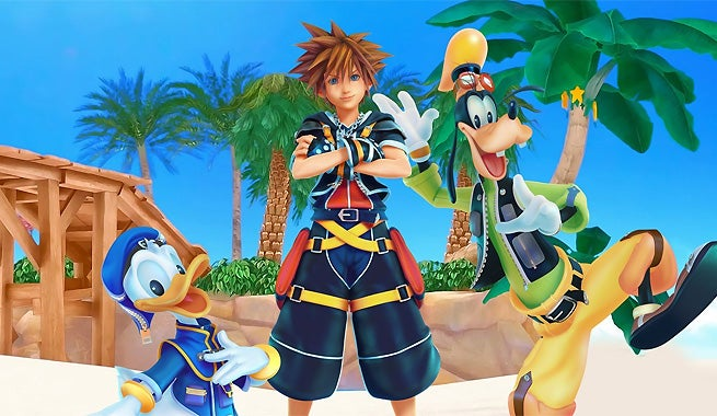 kingdom hearts iii will have a second playable character. Black Bedroom Furniture Sets. Home Design Ideas