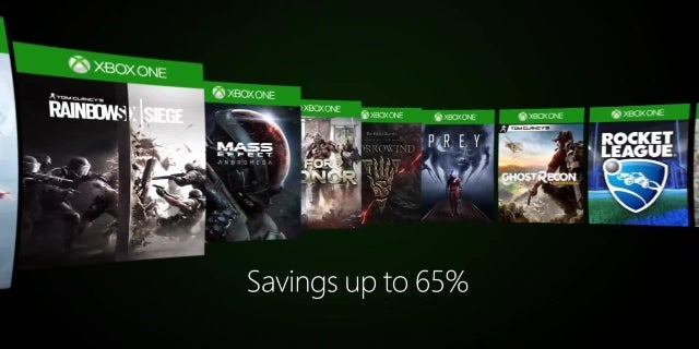 Xbox Ultimate Game Sale 2017 Video screen capture