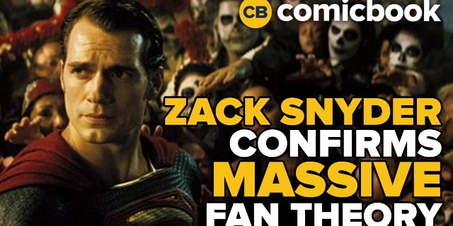 Zack Snyder Confirms Massive Fan Theory screen capture