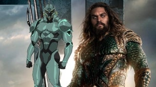 Aquaman Set Photo Atlantis Soldier Close Up