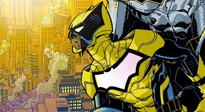 batman and the signal duke thomas