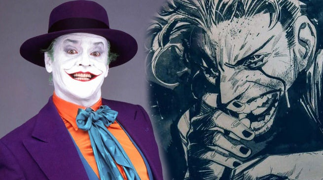 Batman White Knight Jack Napier Joker 1989 Movie