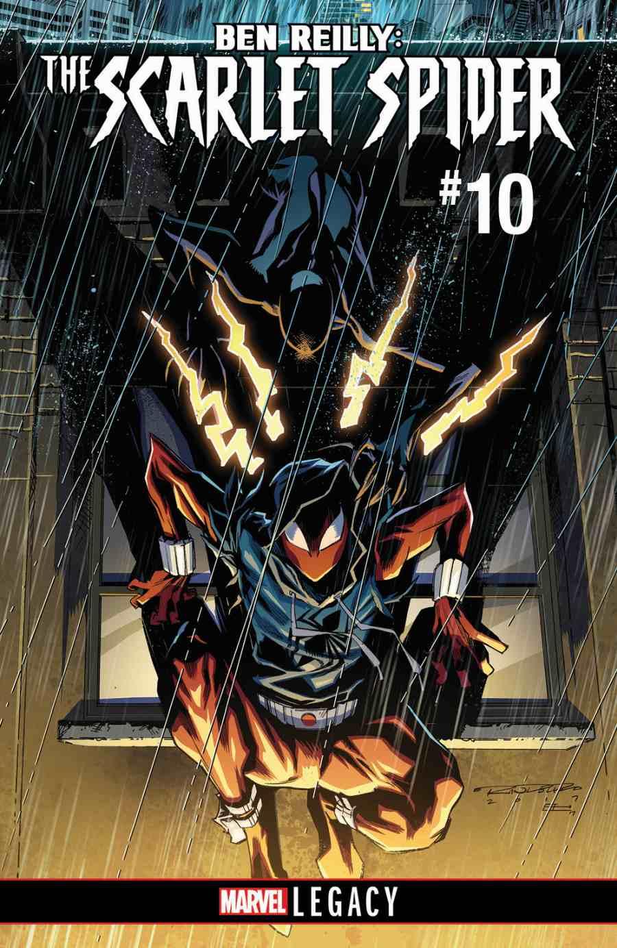 Ben Reilly The Scarlet Spider 10 Marvel Legacy