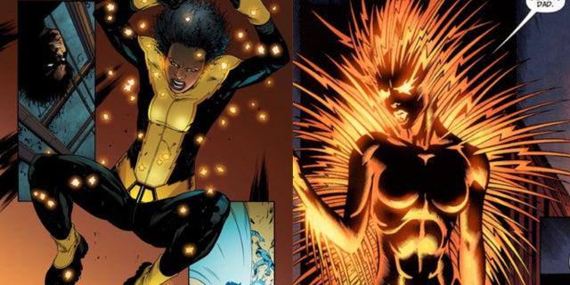 Black Lightning TV Thunder and Lightning Anissa Jennifer Pierce