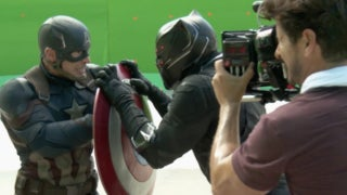 Captain America Civil War VFX Video