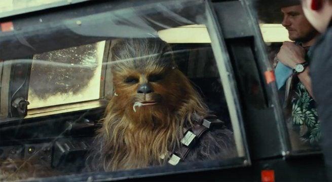 Chewbacca Star Wars The Last Jedi