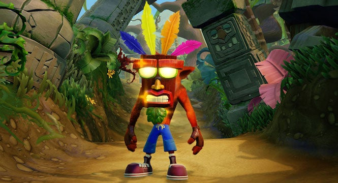 Charts: Crash Bandicoot makes it four weeks on top