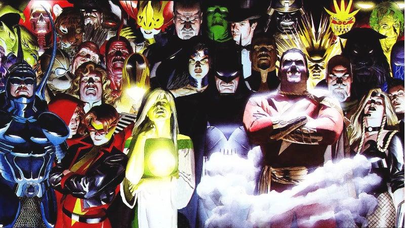 DC Elseworlds Kingdom Come Movie