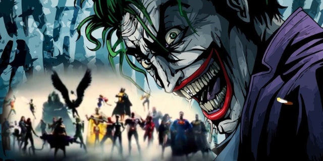 DCEU vs DC Standalone Movies - Joker Justice League