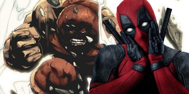 Deadpool 2 Juggernaut Set Photos