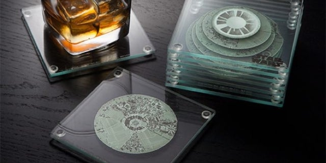 death-star-coaster-set