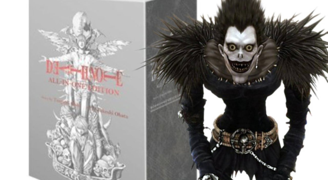 The Ridiculous 2,400-Page \'Death Note\' Omnibus Is Now Available In ...