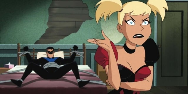 did harley quinn and nightwing have sex