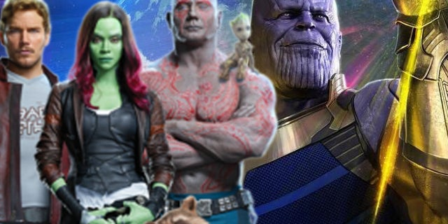 guardians avengers infinity war