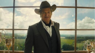 Jeff Bridges as Agent Champagne in Kingsman 2 Golden Circle