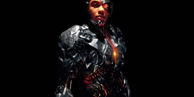 Justice League - Cyborg Hi-Res Character Poster
