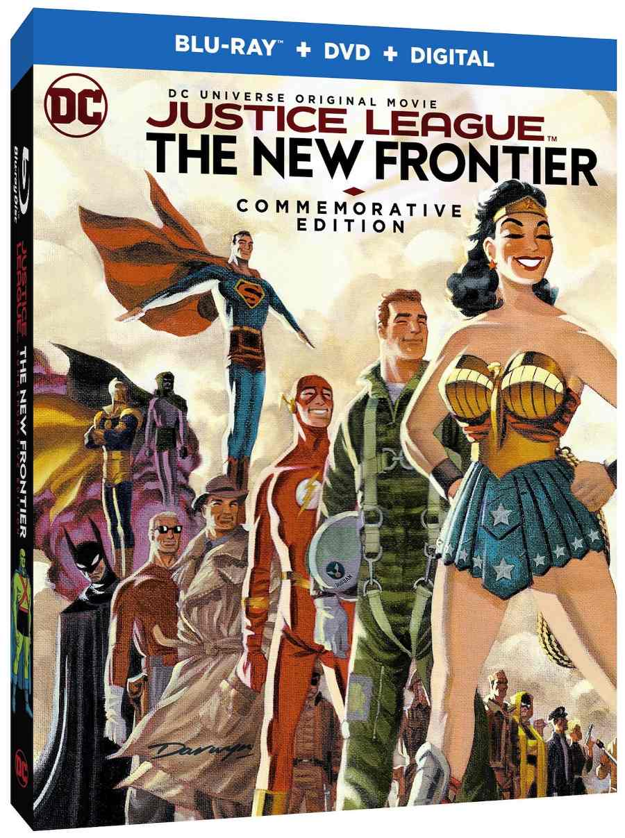 Justice League New Frontier Commeorative Edition
