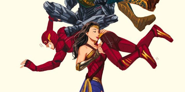 Kami-Justice-League-Print
