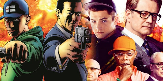 kingsman movies comics