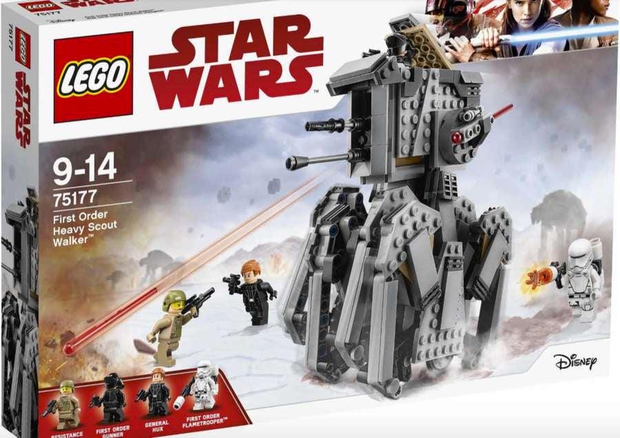lego star wars the last jedi heavy scout walker