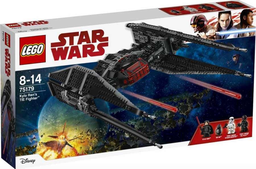 lego star wars the last jedi kylo ren tie fighter