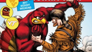 Marvel Comics College Football Kickoff Covers 2017