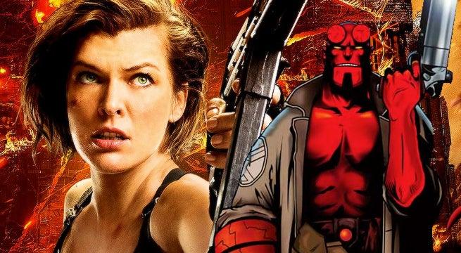 Milla Jovovich Joins H... Milla Jovovich Hellboy