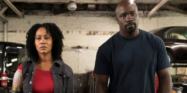 Misty Knight Bionic Arm Luke Cage