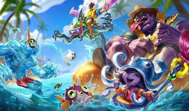 League of Legends Champion and Skin Sale Aug. 18-21