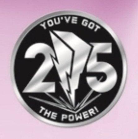 Saban Debuts Power Rangers 25th Anniversary Emblem