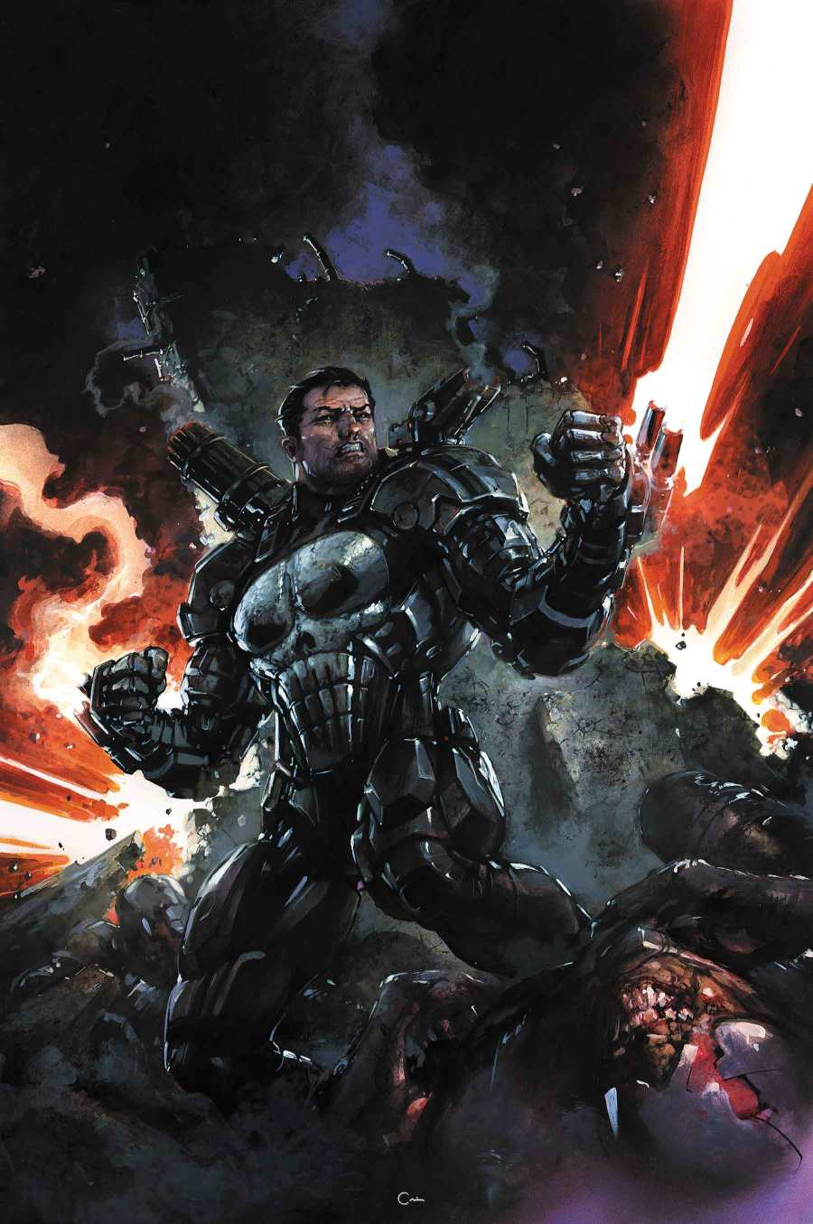 New Details On The Punisher Becoming War Machine