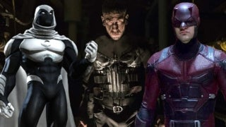 Punisher Netflix Daredevil Moon Knight