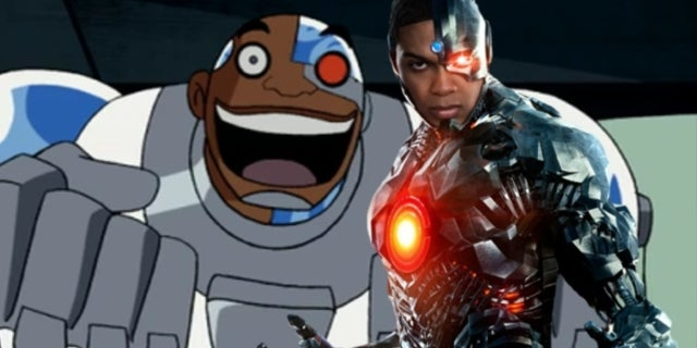 Ray Fisher Cyrbog Booyah Justice League