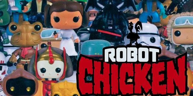 robot chicken funko