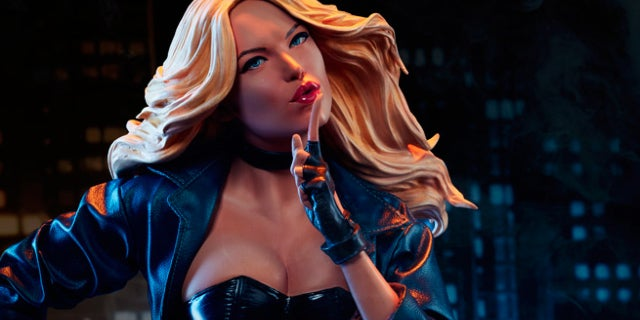 sideshow black canary premium format