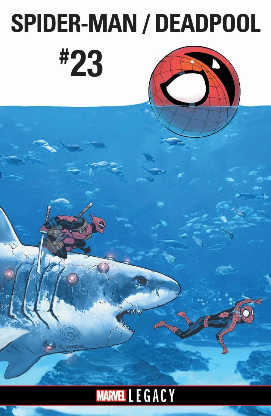 Spider-Man Deadpool 23 Marvel Legacy