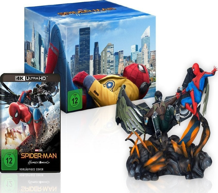 Spider-Man Homecoming figurine set