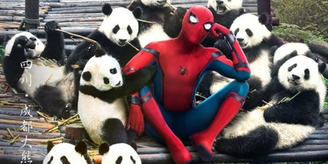 Spider-Man Homecoming Posters China