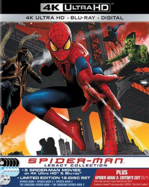 Spider-Man Legacy 4K