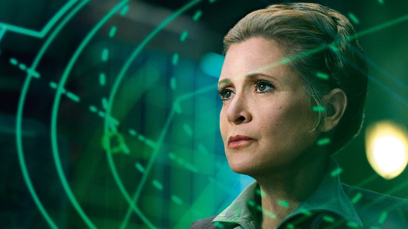 Star Wars 8 Last Jedi Leia's Death Ending